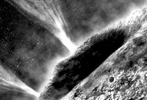 Encontrados sinais de água líquida em cometas