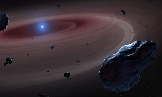 Astrofísicos flagram quatro fins do mundo