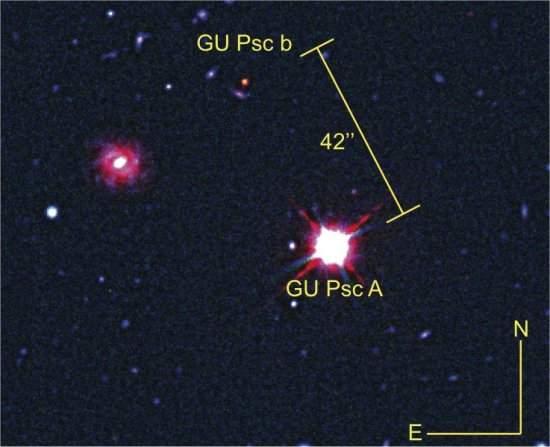 A melhor foto de um exoplaneta, e um exoplaneta muito estranho