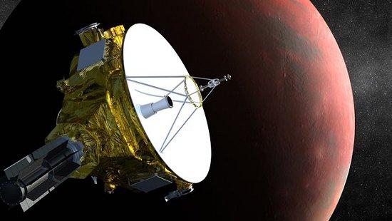 Sonda New Horizons fará primeiras imagens de Plutão
