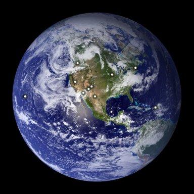 Radar espacial capta imagem da Lua para proteger a Terra