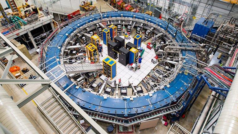 Experimento com múons mostra indícios de uma Nova Física