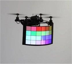 BitDrones: Telas voadoras ou Hologramas Físicos?