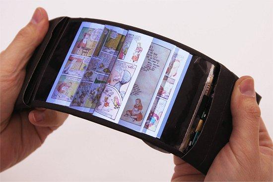 Celular flexível permite dobrar os aplicativos