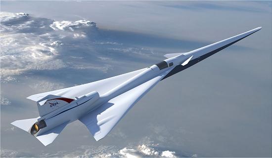NASA apresenta modelo de avião supersônico silencioso