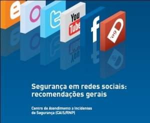 Cartilha traz recomendações de segurança em redes sociais