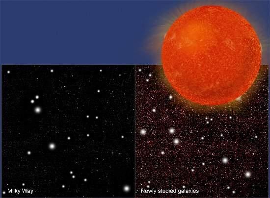 Número de estrelas no Universo pode ser três vezes maior