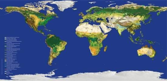 ESA lança mapa-múndi mais preciso já feito