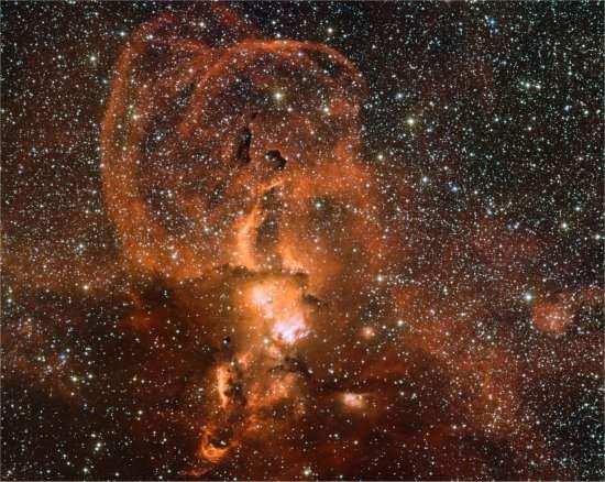 Estrelas liberam fogos de artifícios celestes ao morrer