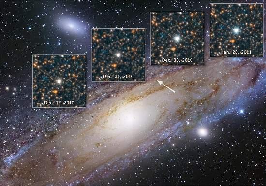 Hubble fotografa estrela que mudou o Universo