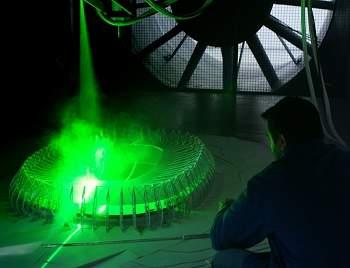 Estádio da Copa 2014 é testado em túnel de vento