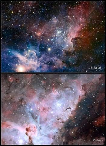 ESO mostra o céu como você gostaria de ver