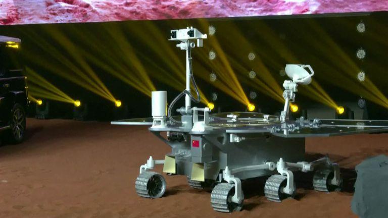 Marte recebe mais tr